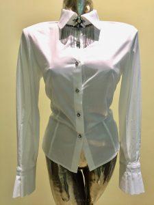 Biela košeľa s manžetami