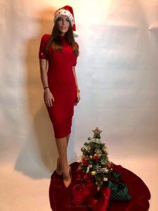 vianočný kruh vrecko čižma pod stromček
