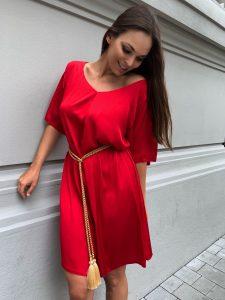 Červené Nomad šaty