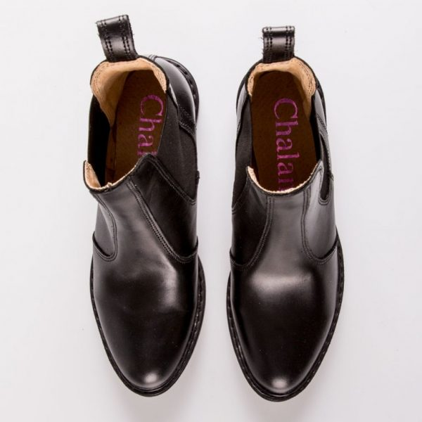 dámske kožené kotníkové topánky