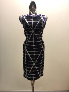 čierno-biele šaty najvyššej kvality