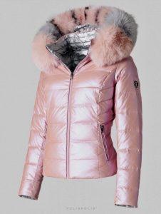 dámska zimná páperová bunda