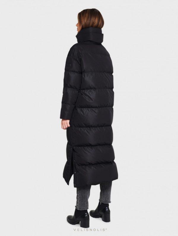 dámska maxi dlhá zimná páperová bunda
