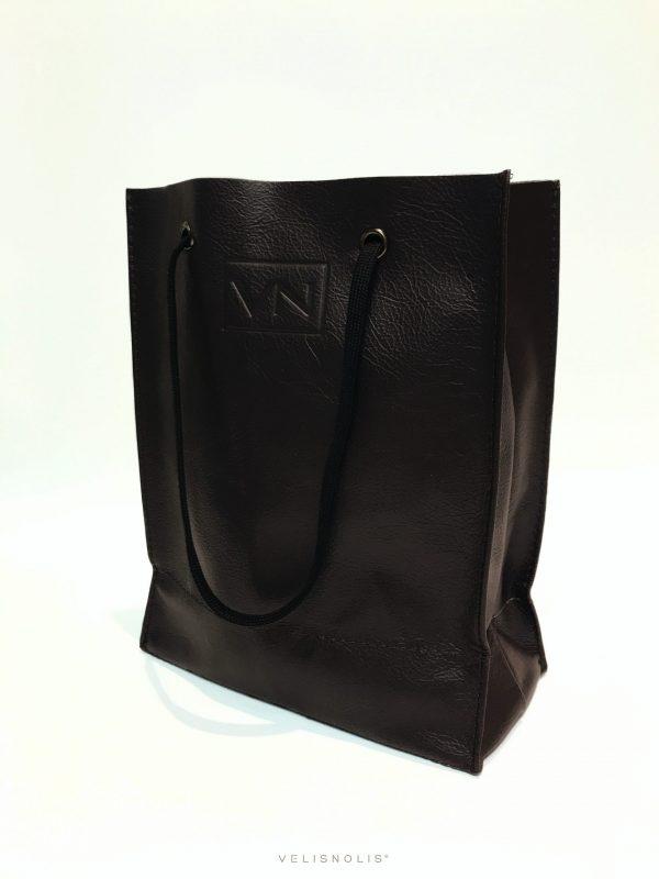 kožená hnedá taška