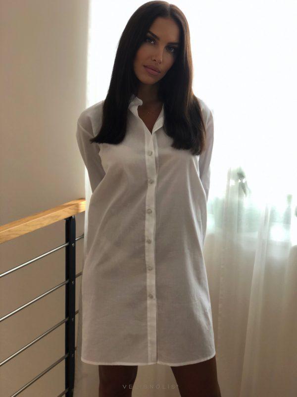 biela dámska košeľa LOLA